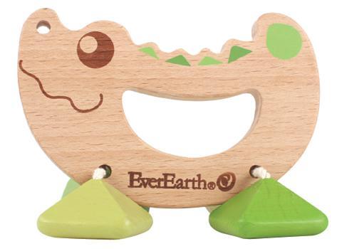 Ever Earth® Barškutis iš mediena »Krok...