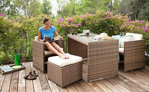 MERXX Rinkinys: sodo baldų komplektas »Meran...