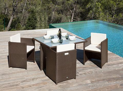 Sodo baldų komplektas