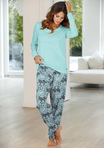 BUFFALO Pižama su gemusterter kelnės & passend...