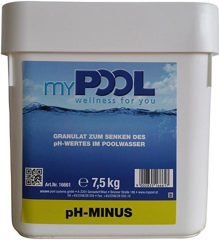 Poolpflege »p H-minus« 75 kg