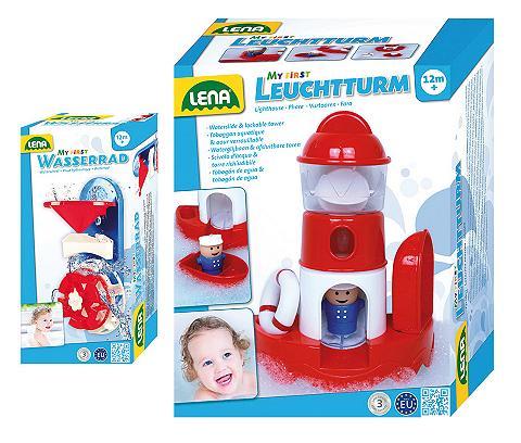 LENA ® Vandens žaislų rinkinys švyturys ir ...