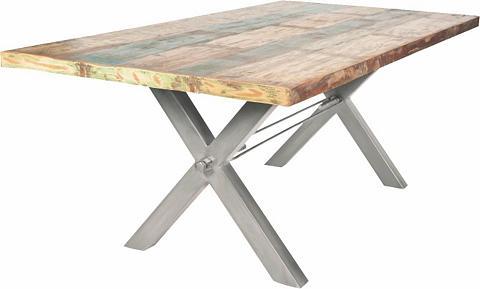 Valgomojo stalas »Tops« iš recyceltem ...