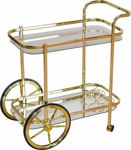 Serviravimo vežimėlis iš plienas su 2 ...