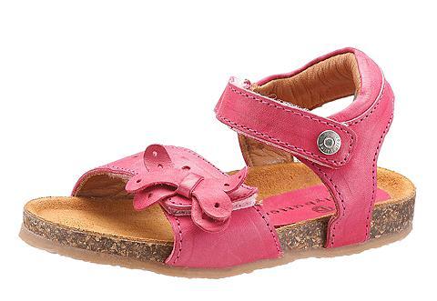 Sandalai su kibiais lipdukais