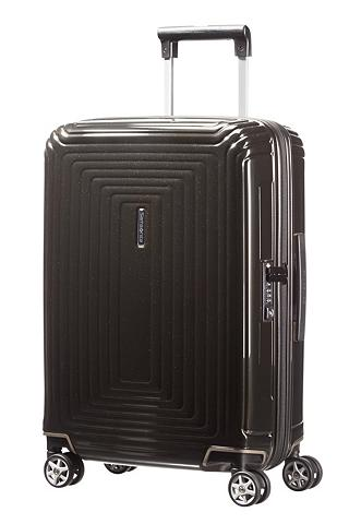 SAMSONITE Plastikinis lagaminas su 4 ratukai ir ...