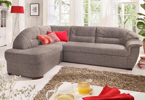 HOME AFFAIRE Kampinė sofa »Malta« patogi su miegoji...