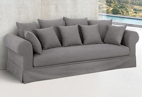 Trivietė sofa »Palmina« Hussenoptik