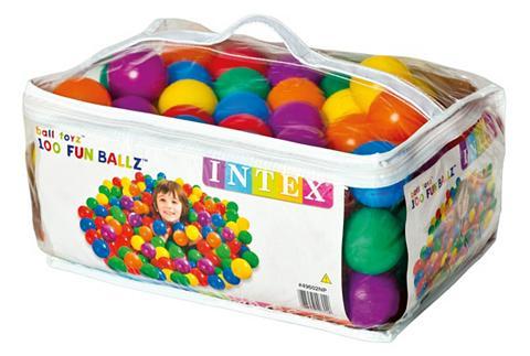 INTEX Rutuliukai (100 vnt.) »Fun Ballz«