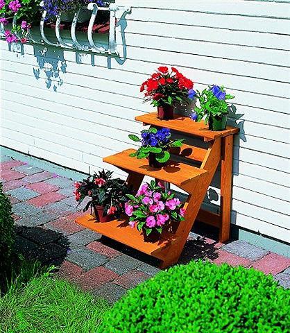 PROMADINO Medinis stovas »Blumentreppe klein« B/...