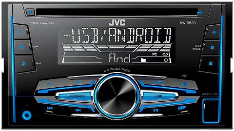 JVC 2-DIN Auto magnetola »KW-R520«