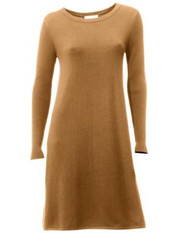Megzta suknelė su Kellerfalte nugaroje...