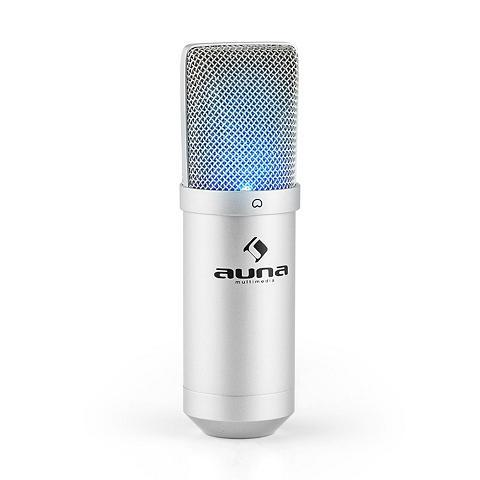 Auna USB laikmena Kondensator Mikrofon ir M...