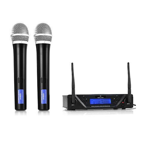 Malone 2 Kanal UHF Funkmikrofon rinkinys »UHF...