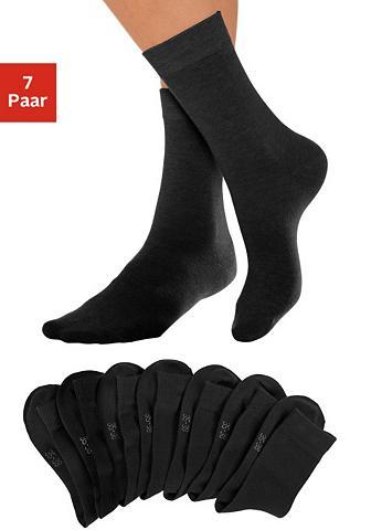 Basic kojinės (7 poros) su druckfreiem...