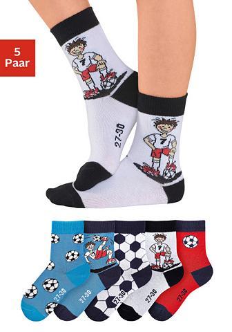 H.I.S Vaikiškos kojinės (5 poros) su Fußball...
