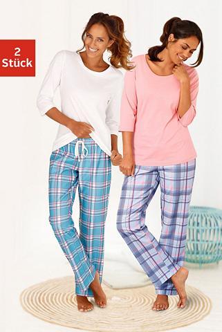 ARIZONA Languoti pižama (2 vienetai) su passen...