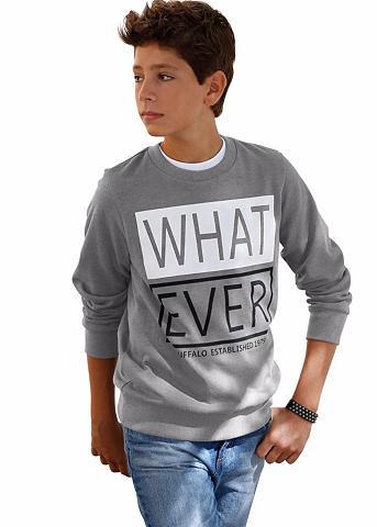 BUFFALO Sportinio stiliaus megztinis »WHATEVER...