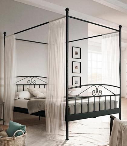HOME AFFAIRE Metalinė lova su baldakimu »Birgit«