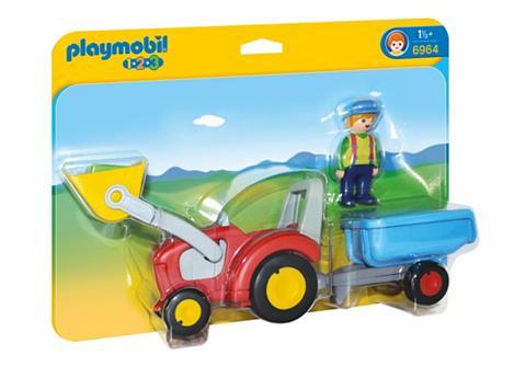 PLAYMOBIL ® traktorius su pakabukas (6964) 1-2-3...