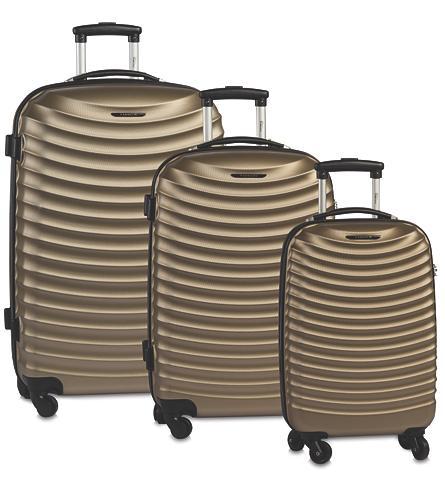 FABRIZIO Plastikinis lagaminas ant ratukų rinki...