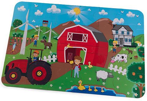 Kid Kraft® Bodenpuzzle 24 Teile »Bauer...