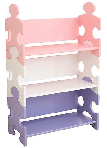 KidKraft ® lentyna knygoms »Puzzle - Pastell«