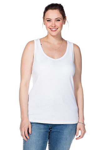 BASIC Marškinėliai be rankovių su su V...
