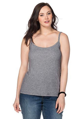 BASIC Marškinėliai be rankovių su Spag...