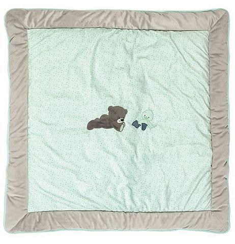 Žaidimų kilimėlis dėl medinė lovytė su...