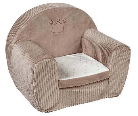Vaikiškas fotelis beige »Krone«