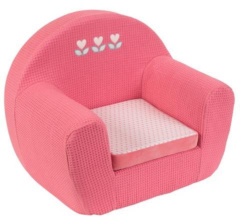Vaikiškas fotelis rosa