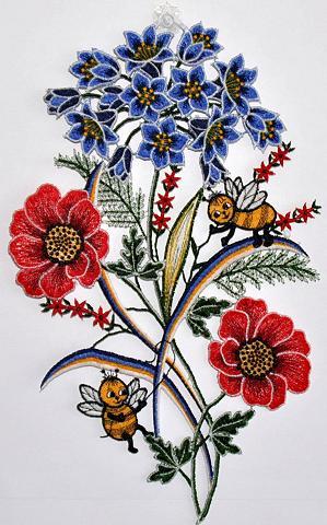 Lango dekoracija »Fensterbild Blumen« ...