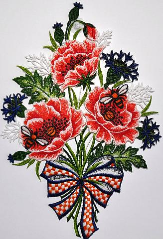 Lango dekoracija »Fensterbild Blumenst...