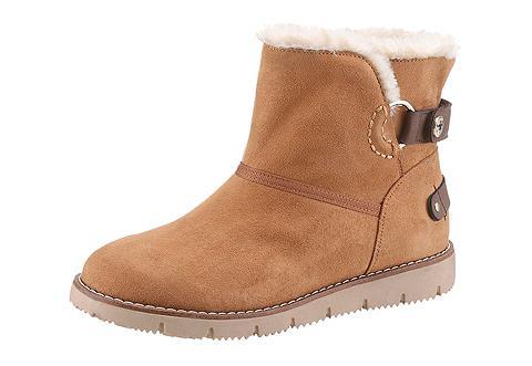 TOM TAILOR Žieminiai batai su Klettverschluss