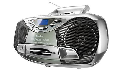 Karcher »RR 510(N)« Stereo-CD Player (Anti-Sch...