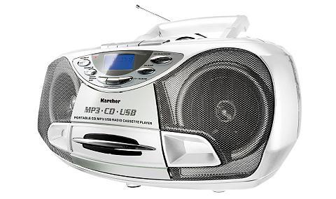 Karcher »RR 510(N)-W« Stereo-CD Player (Anti-S...