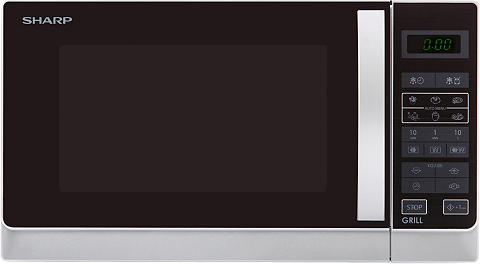 SHARP Mikrobangų krosnelė R742WW su Grilis 2...