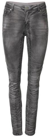 heine CASUAL Laisvo stiliaus kelnės su Biker-Detail...