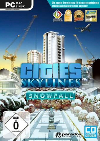PC - Spiel »Cities: Skylines Snowfall«...