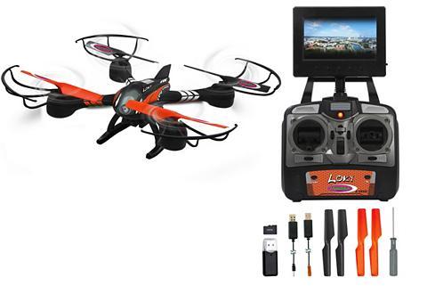 Jamara RC-Quadrocopter »Loky« su Display ir K...