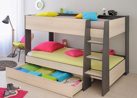 Dviaukštė lova ir lovos stalčiai »Hubl...