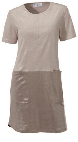 Dirbtinės odos suknelė