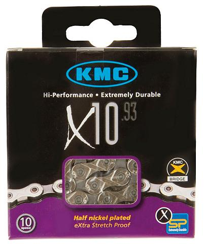 KMC Fahrradkette »X 10 - 93«
