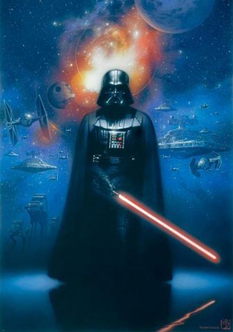 HOME AFFAIRE Fototapetas »Star Wars Darth Vader« 18...