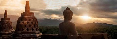 HOME AFFAIRE Paveikslas ant drobės »Borobudur«