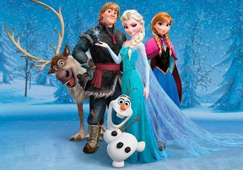 Fototapetas »Disney Frozen« 254/184 cm...