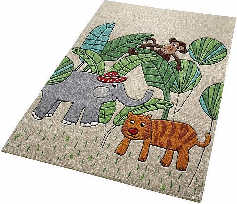 Vaikiškas kilimas »Jungle Friends« ele...