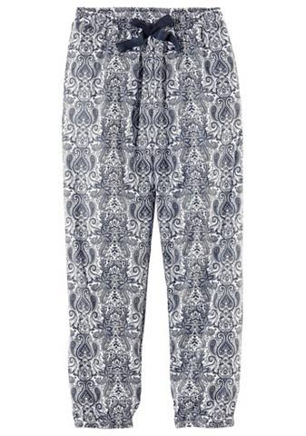 S.OLIVER RED LABEL Bodywear pižaminės kelnės in langer fo...