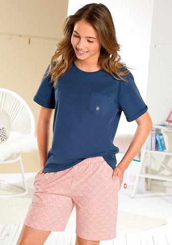 Bodywear pižama in kurzer forma